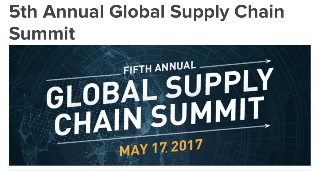 Global Supply Chain Summit Logo